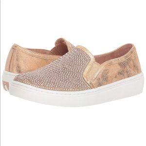 Size 8 Skechers Rhinestone Embellished Sneakers